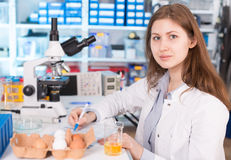 Food quality control Royalty Free Stock Photography