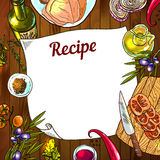 Food recipe Stock Image