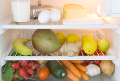 Food Refrigerator Royalty Free Stock Photos