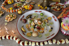 Food for religious worship Royalty Free Stock Images