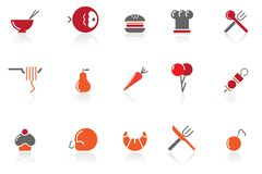 Food & restaurant icons|part 15 series 1 Stock Images