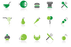 Food & restaurant icons|part 15 series 3 Stock Images