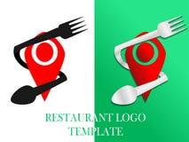 Food and Restaurant logo template vector illustration