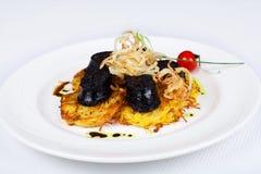 Menu Catering Stock Photos