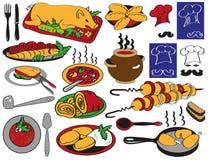 Food restaurant Stock Image