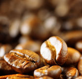 Roasted arabica Royalty Free Stock Photos