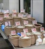 Food sacks Stock Photography