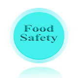 Food Safety icon or symbol image concept design with business fo. R business concept. concept for stickers, banners, cards, advertisement Royalty Free Stock Image