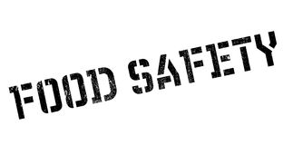 Food Safety rubber stamp Royalty Free Stock Images
