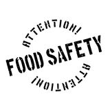 Food Safety rubber stamp Royalty Free Stock Image