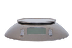 Food scale digital isolated Royalty Free Stock Images