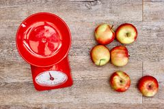 Food Scales Royalty Free Stock Photography