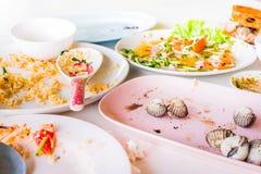 Food scraps, samui thailand Royalty Free Stock Photos