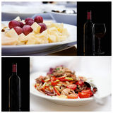Food series. Italian stock images