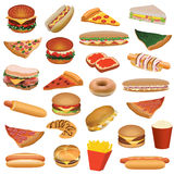 Food set Stock Images