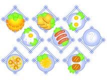 Food set Stock Photos