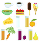 Food set Stock Image