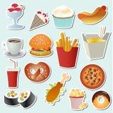 Food set vector Stock Photos