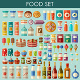 Food set. vector Royalty Free Stock Photography