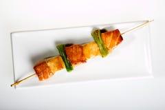 Food - shashlik Stock Photography