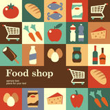 Food shop Royalty Free Stock Photo