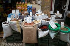 Food shop Royalty Free Stock Photography