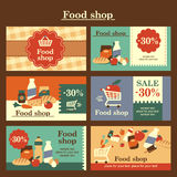 Food shop Stock Image