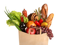 Food shopping Royalty Free Stock Images