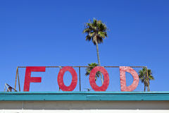 Food Sign Stock Photo