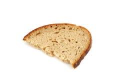 Food slice of bread. Food half slice of bread Royalty Free Stock Image