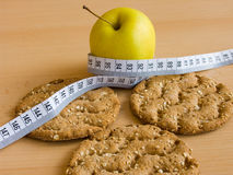 Food for slim lines Royalty Free Stock Image
