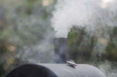 Food Smoker Stock Photo