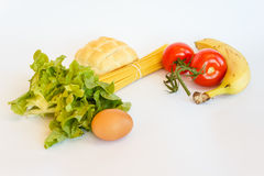 The food spending of the day. The food  spending of the day to prepare lunch Stock Images