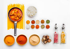 Food and spices herb for cooking. Stock Images