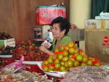 Food stall Stock Photo
