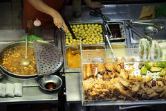 Food stall Stock Images
