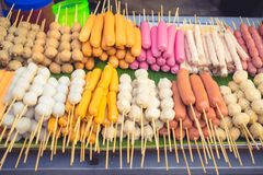 Food stall street food in Thailand stock images