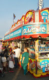 Food Stall at Summer Carnival Royalty Free Stock Images