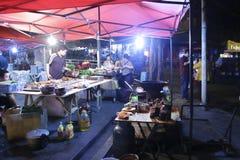 Food stalls in chongqing city, china Royalty Free Stock Photo