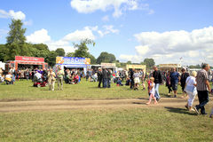 Food stalls at Cromford Steam Rally. Royalty Free Stock Image