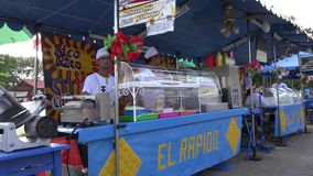 Food Stand in Carnival Royalty Free Stock Photo