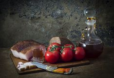 Food still-life. Royalty Free Stock Images