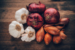 Food Stilll LIfe Flavorful Ingredients Royalty Free Stock Photography