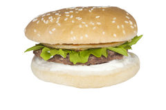Food Stock beef burger. Food Stock 2 Beef burger which can be used for your food menus Stock Photography