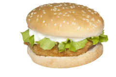 Food Stock. Chicken burger which can be used for your food menus Stock Photography