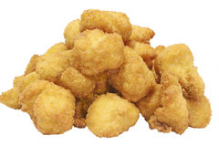 Food Stock. Chicken nugets which can be used for your food menus Royalty Free Stock Photo