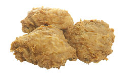 Food Stock. Chicken 3 pieces which can be used for your food menus Royalty Free Stock Photo