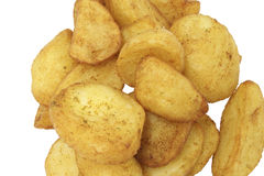 Food Stock. Potatoes pieces which can be used for your food menus Stock Photo