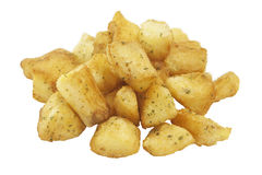 Food Stock. Potatoes pieces which can be used for your food menus Royalty Free Stock Photography