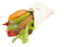 Food Stock. Wrap with chicken which can be used for your food menus Royalty Free Stock Photos
